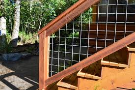 bothell welded wire mesh deck railing sublime garden design
