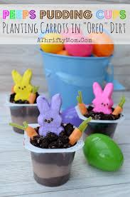 Pinterest Easter Decorations With Peeps by Peeps In The Dirt Pudding Cups With Oreo Dirt Quick And Easy