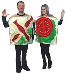 Halloween Costume Bacon Blt Couples Costume Costumes