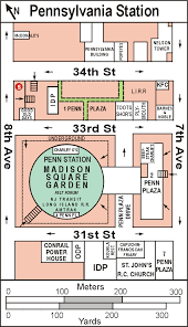 Msg Floor Plan Penn Station Pennsylvania Station Madison Square Garden