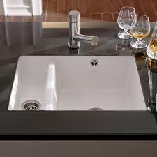 porcelain undermount kitchen sink u2014 flapjack design white