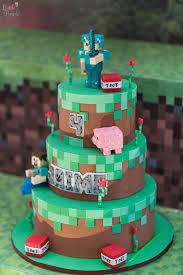 minecraft birthday cake ideas minecraft cake from a minecraft birthday party on kara s party