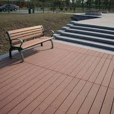 Wood Patio Flooring by Hollow Wood Plastic Composite Decking For Outdoor Flooring