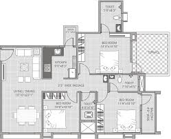 1400 Sq Ft 1400 Sq Ft 3 Bhk 3t Apartment For Sale In Om Shivam Buildcon Pvt