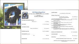 Funeral Program Maker 11 Funeral Program Samplesagenda Template Sample Agenda Template