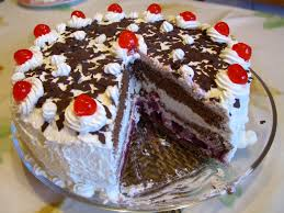 How To Decorate A Birthday Cake At Home Black Forest Gateau Wikipedia
