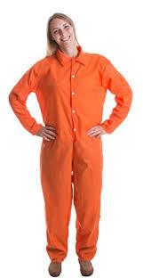 prison jumpsuit costume prisoner jumpsuit orange prison inmate costume
