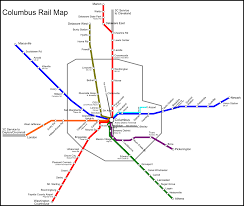 Disney Monorail Map Notes From The Reserve Light Commuter Rail In Columbus