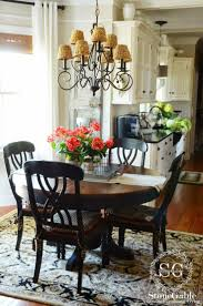 Farm Table Kitchen Island by Best 25 Farmhouse Kitchen Tables Ideas On Pinterest Diy