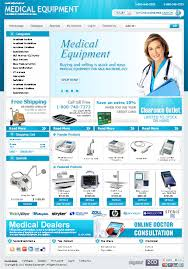 medical equipment store virtuemart 2 template 1264 website