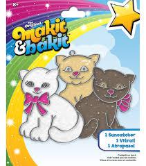 makit u0026 bakit glittering suncatcher kits kittens joann