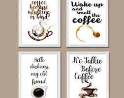 coffee wall etsy