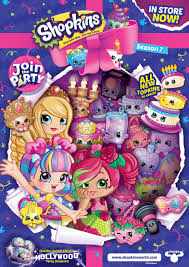 shopkins shoppies join the party dolls rosie bloom the
