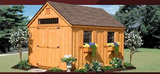 Backyard Wood Sheds by Custom Amish Backyard Wood Sheds For Sale In Oneonta Ny Amish