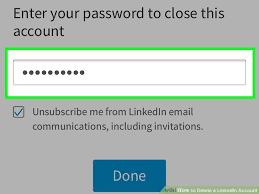 Print Resume From Linkedin How To Delete A Linkedin Account With Pictures Wikihow