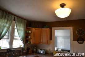 Schoolhouse Lights Kitchen Lighting Archives Lansdowne Life
