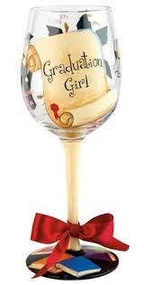 graduation wine glasses painted tattoo or wine glass with by glitzluv