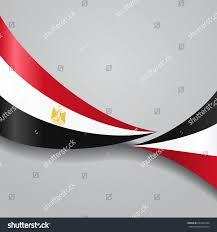 Egypt Flag Wallpaper Egyptian Flag Wavy Abstract Background Vector Stock Vector
