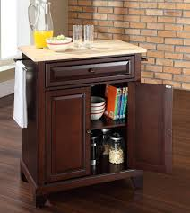 buy newport stainless steel top kitchen island in classic cherry