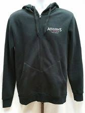 assassins creed black hoodie ebay