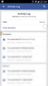 delete search history android how to clear everything you search on
