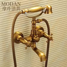 motan antique copper bathtub faucet shower faucet bathroom faucet