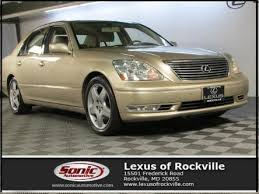 lexus frederick used lexus ls 430 for sale in frederick md edmunds