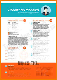 attractive resume templates 30 free beautiful resume templates to
