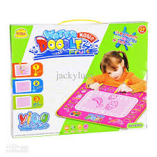 2018 aqua doodle drawing toy magic doodle mat sketchpad drawing