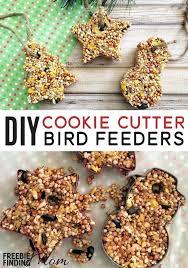 homemade bird feeders cookie cutter bird feeders homemade bird