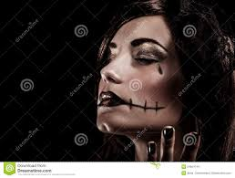 young halloween background evil witch on black background stock images image 34604744