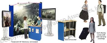 cheap photo booth this monitor stand is an effective trade show display cheap