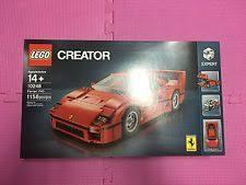 lego f40 lego 10248 f40 creator expert 2016 calendar car ebay