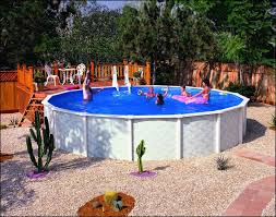 outdoor awesome wood above ground pool deck kits aluminum above
