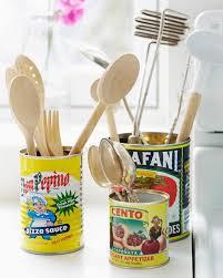 ustensil cuisine tin can kitchen utensil holder paul magazine