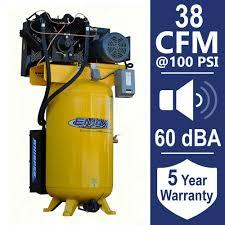 husky 30 gal 155 psi ultra quiet portable electric air compressor