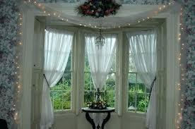 kitchen bay window curtain ideas bay window decor ideas irrr info