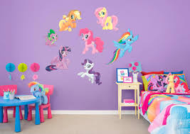 wall stickers my little pony image collections home wall