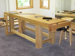 Kids Work Bench Plans Furniture Cozy Concrete Flooring With Oak Wood Craftsman