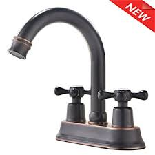 Amazon Bathroom Sink Faucets by Ufaucet Best Modern Oil Rubbed Bronze 2 Handle Widespread