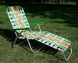 Outdoor Furniture Webbing by Aluminum Chaise Lounge With Webbing U2014 Prefab Homes Aluminum