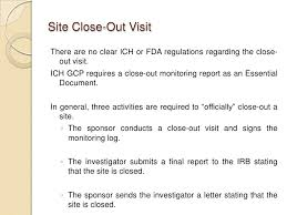 monitoring report template clinical trials monitoring visits