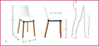 hauteur d un plan de travail de cuisine chaise hauteur plan de travail chaise hauteur plan de travail