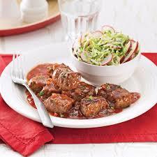 cuisiner boeuf cubes de boeuf barbecue recettes cuisine et nutrition