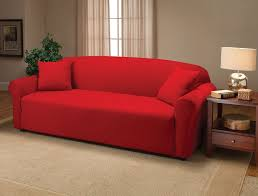 sofa design modern red sofa covers furniture red loveseat cover