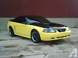 2001 Black Mustang 2001 Mustang Gt Low Miles Custom Two Tone Paint For Sale In