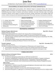 Sample Resume For Assistant Professor In Computer Science by Database Engineer Sample Resume 12 Oracle Database Dba Resume