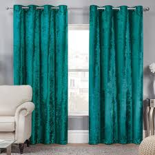 Teal Curtain Living Room Turquoise Cafe Curtains Blue Curtains Teal