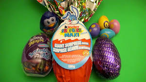 Scooby Doo Easter Egg Dye Kit Opening A Collection Of Easter Eggs With A Kinder