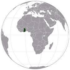 Map Of Ghana Ghana Location Map Map Of Ghana Location Vidiani Com Maps Of